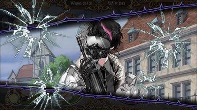 割れるガスマスク