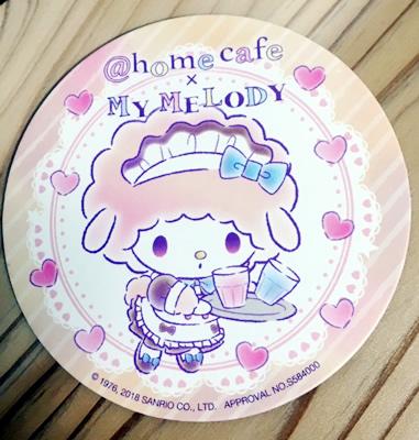 @ほぉ〜むカフェ×マイメロディ